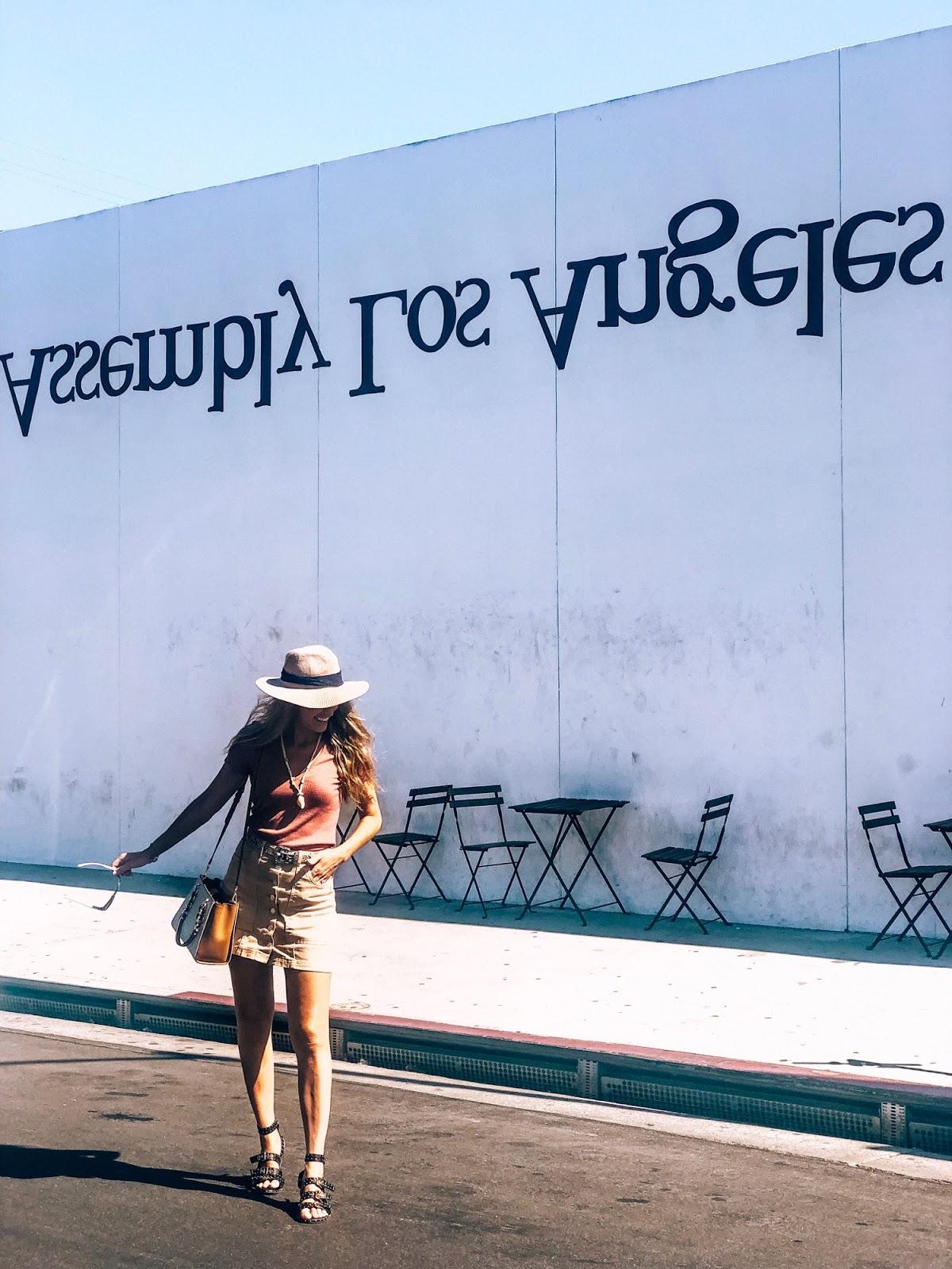 murales en melrose avenue