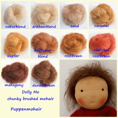 Belambolo - Puppenhandwerk: Dolly Mo Puppenmohair ist da!! - Dolly Mo doll mohair arrived!!