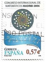 Selo Congresso Internacional de Matemáticos