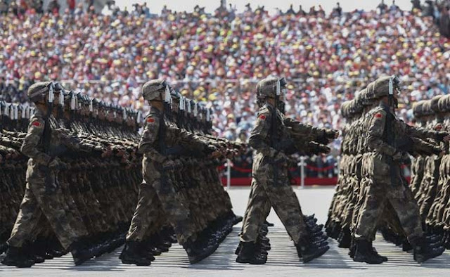 China's Military Growing Fast,