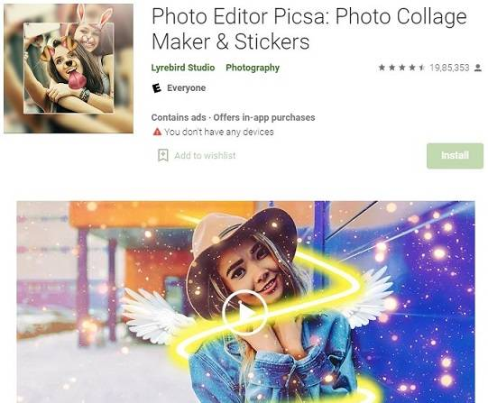 photo-editor-picsa