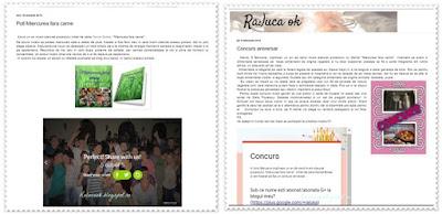 Articole de pe blog RalucaOk