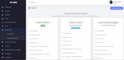 Aplikasi UMKM atau Sistem Direktori dan Pemetaan UMKM adalah sebuah sistem berbasis website yang berisi data-data UMKM (Usaha Kecil Mikro dan Menengah) beserta bidang usaha, lokasi usaha dan produk-produk apa saja yang dimiliki oleh pelaku umkm tersebut