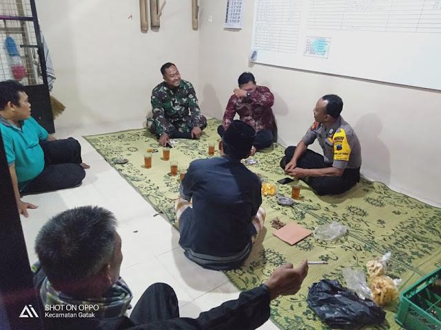 abinsa Koramil 22 Wonosari Patroli Pos Kamling