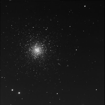 globular cluster Messier 53 in luminance
