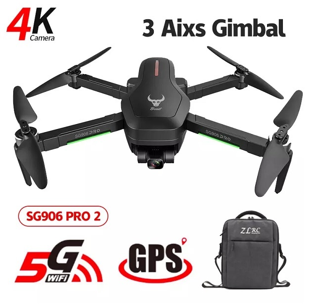 SG906 Pro 2 Drone GPS with 4k Camera 3 axis Gimbal Brushless Professional Wifi Quadcopter