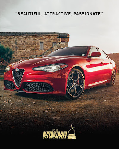 Alfa Giulia Car of The Year