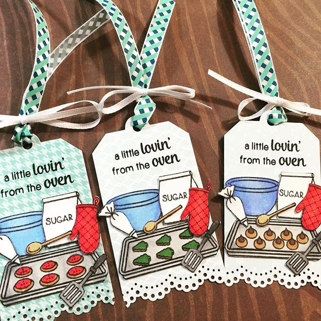 Sunny Studio Stamps: Blissful Baking Cookie Gift Tags by Alicia Havranek