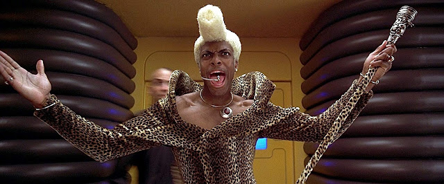 Chris Tucker as Ruby Rhod The Fifth Element