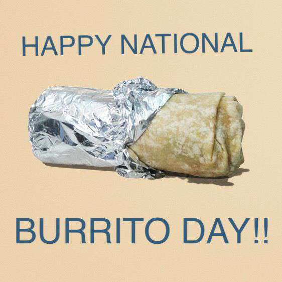 National Burrito Day Wishes Photos