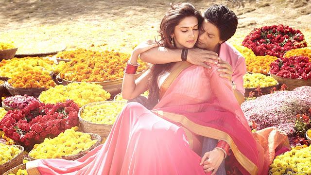 "Image Attribute: Indian film stars Shahrukh Khan and Deepika Padukone / Source: ""Chennai Express"" Motion Picture, circa 2013"