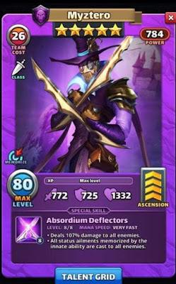 Myztero Secret Tavern Of Legends Hero