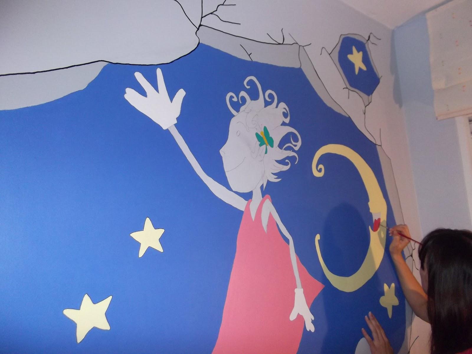Silvania mural para habitaci n infantil - Mural habitacion infantil ...