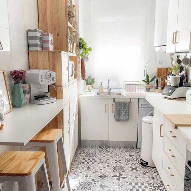 Model Kitchen Set Minimalis Dapur Kecil Bentuk U