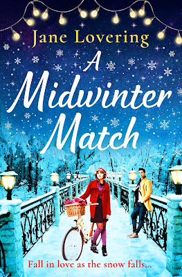 A Midwinter Match by Jane Lovering book cover Boldwood Books