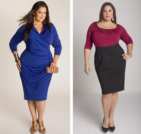 model baju casual wanita gemuk