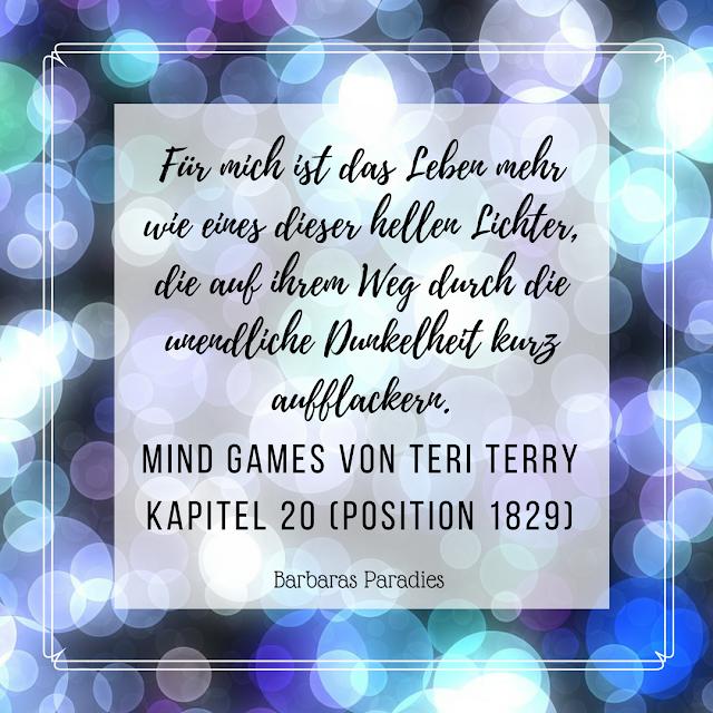 Buchrezension #133 Mind Games von Teri Terry