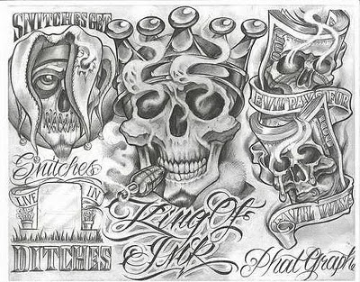 Traditional Banner Tattoo Design
