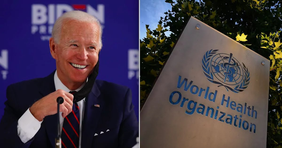 Joe Biden Reverses Trump Policy And Readmits The USA As A Member Of The World Health Organisation