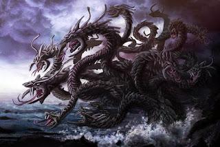 mito de hercules heracles la hidra de lerna
