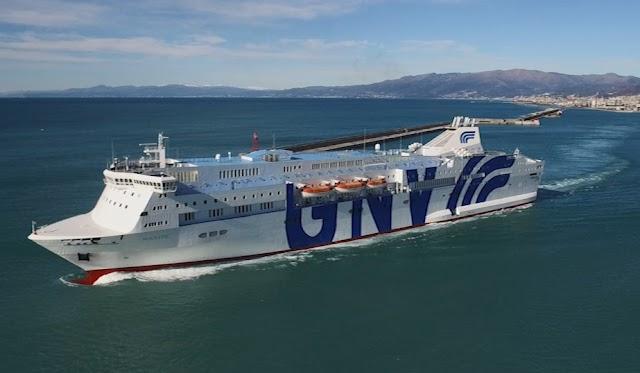 Gnv: entra in flotta la nave GnvSealand