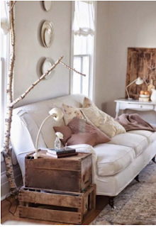 cómo decorar sala con estilo vintage