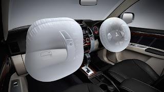 airbag new pajero sport 2013