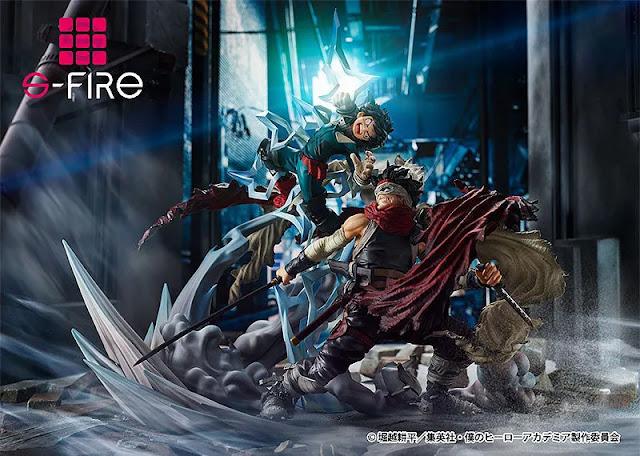 My Hero Academia Super Situation Figure: Izuku Midoriya vs. Stain
