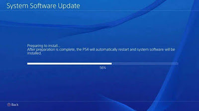 cara update software ps4