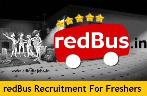 redBus Recruitment 2018-2019 Job Openings For Freshers