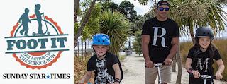 New Zealanders Foot it to School