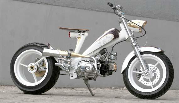 referensi modifikasi motor honda astrea