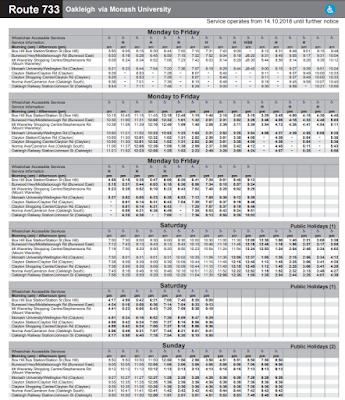 Metro Bus 733 timetable clayton nc