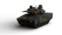 Lộ ảnh khái niệm xe chiến đấu bọc thép trong tương lai của Quân đội Mỹ