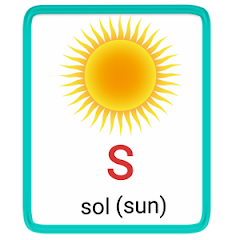 s- alphabet in spanish