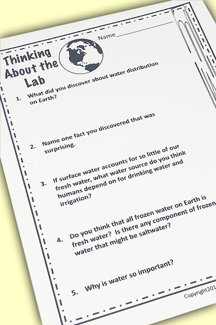 NGSS 5-ES2-2  Worksheets