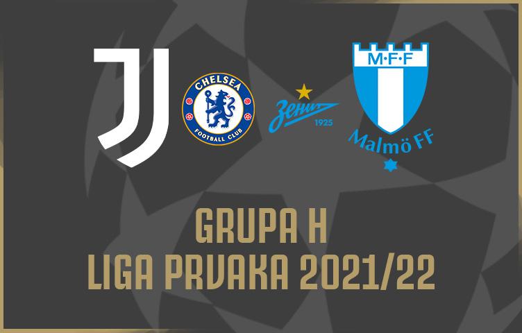 Juventus u grupi H uz Chelsea, Zenit St Petersburg i Malmö FF