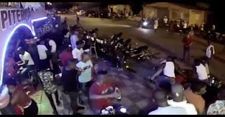 (Vídeo) donde joven de 30 años es apuñalado en un bar de Villarpando, Azua
