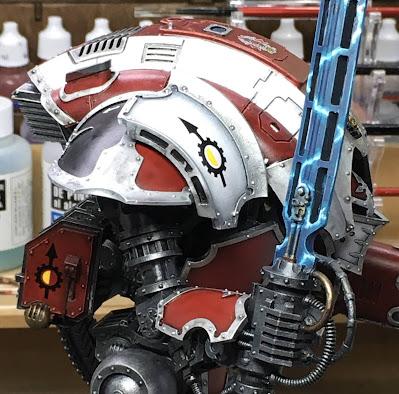 House Taranis Cerastus Knight-Castigator WIP