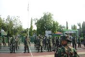 Materi PBB Awali Agenda Minggu Militer Kodim 1407/Bone