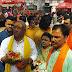 बिहार सरकार के उप मुख्यमंत्री तारकेश्वर प्रसाद पहुंचे बाबा बैद्यनाथ के दरबार