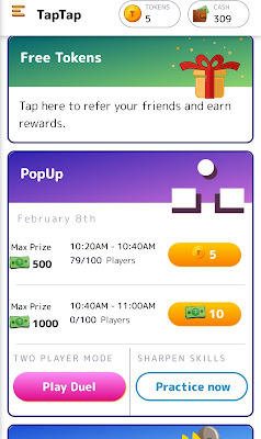 how to earn money online use android app taptap