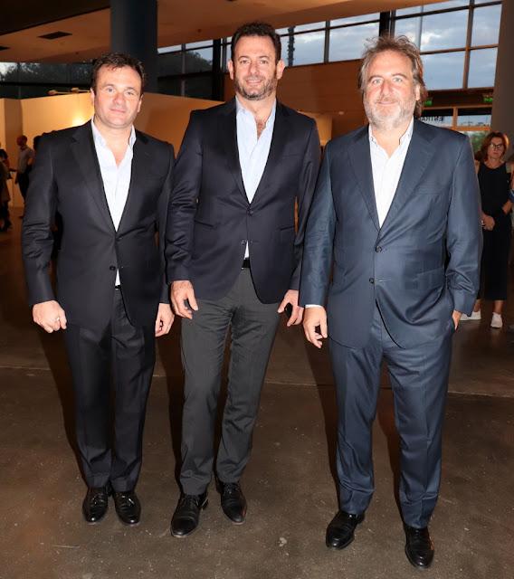Juan Pablo Maglier, José Urtubey y Tato Lanusse