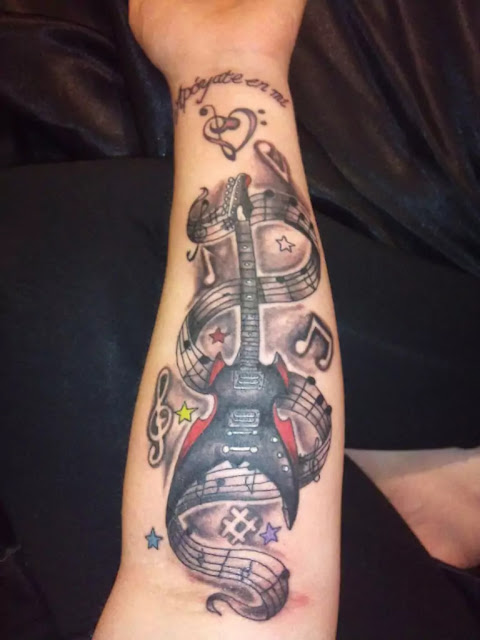 Creative Music Tattoos That Are Sure To Blow Your Mind