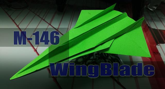 Avión de papel M-146 WingBlade