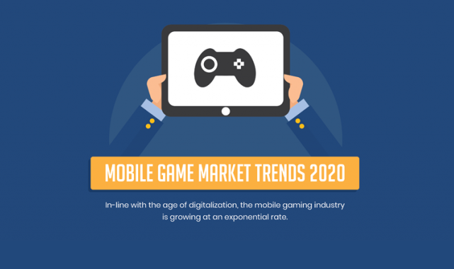 Market Trends for Mobile Games #Infographic #Mobilegames #2020 #Market #trends