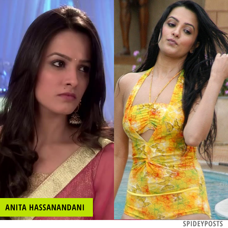 Hot pics of Anita Hassanandani Naagin 3