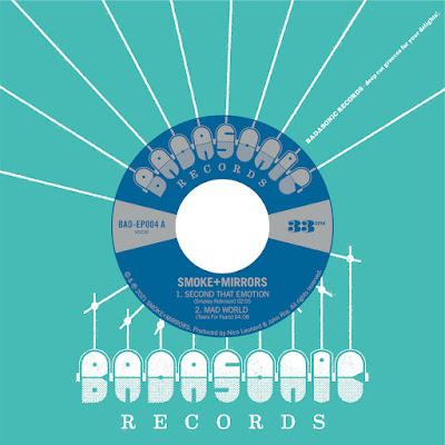The cover features the single's paper label listing the artist, title, and record label (Badasonic).