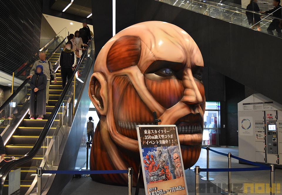 Exibição em Tokyo de Shingeki no Kyojin
