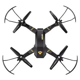 Spesifikasi Drone Visuo Siluroid XS809H-W-HD-G